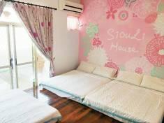 紅粉佳人六人套房
